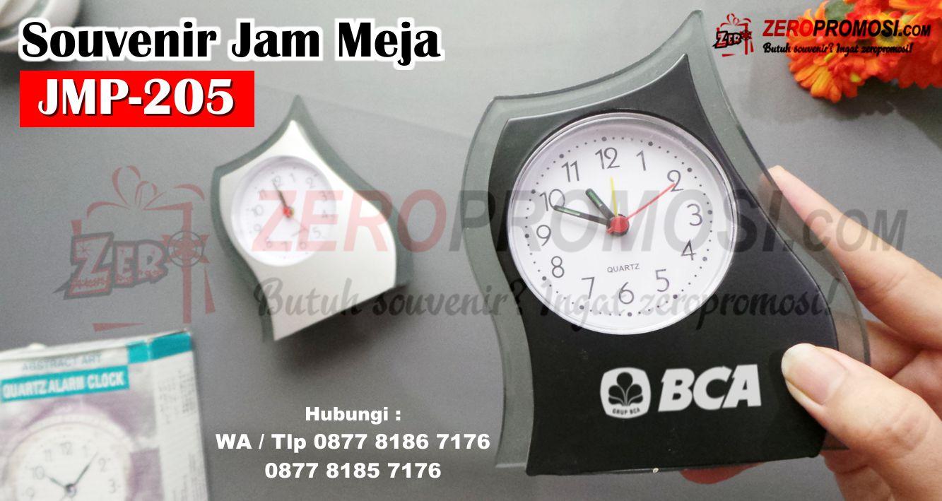 Suplier Jam Meja Promosi JMP-205, Jam Meja Analog Souvenir Promosi JMP-205, Merchandise Kantor Jmp-205, Jam Meja Promosi Perusahaan kode JMP-205