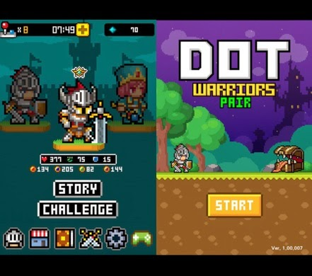 Dot Warriors Pair