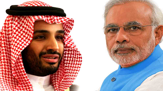 Muhammad bin Salman and pm modi