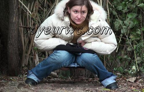 PissHunters 8433-8448 (Outdoor voyeur peeing. Voyeur public toilet spy cam)