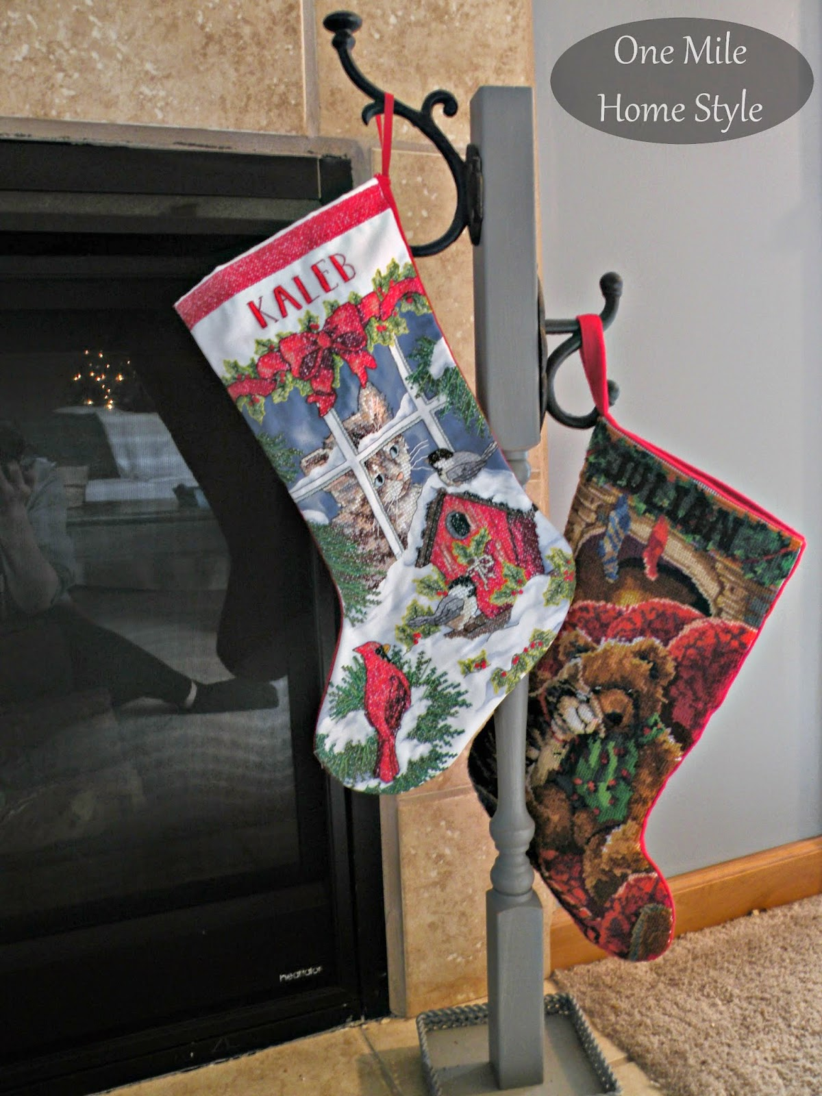 DIY Stocking Hanger for Christmas