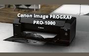 Canon image PROGRAF PRO-1000 Driver Softwar Free Download