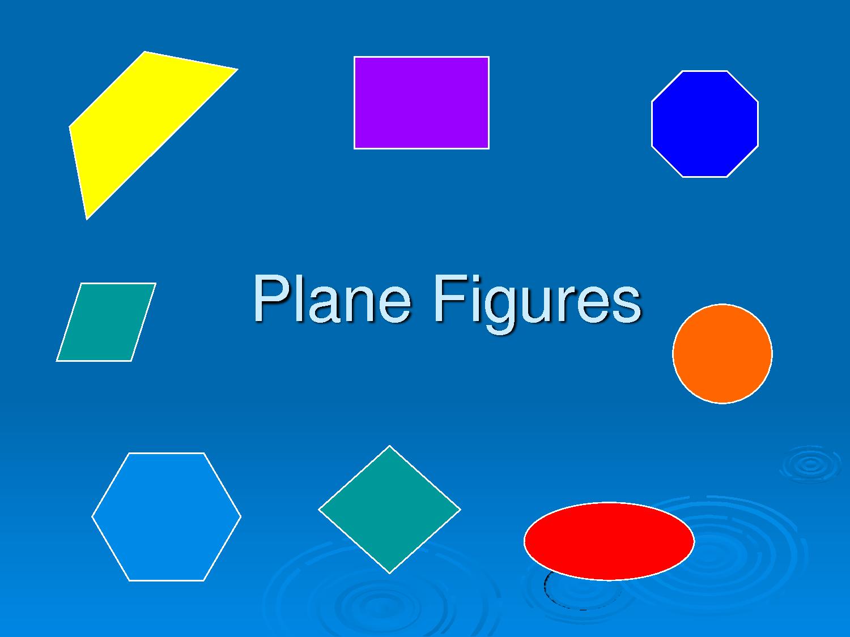 Plane Figures Educatordex