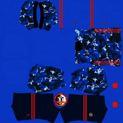 Kit Đội Tuyển QG Nhật Bản - Japan Kit Dream League Soccer 2021