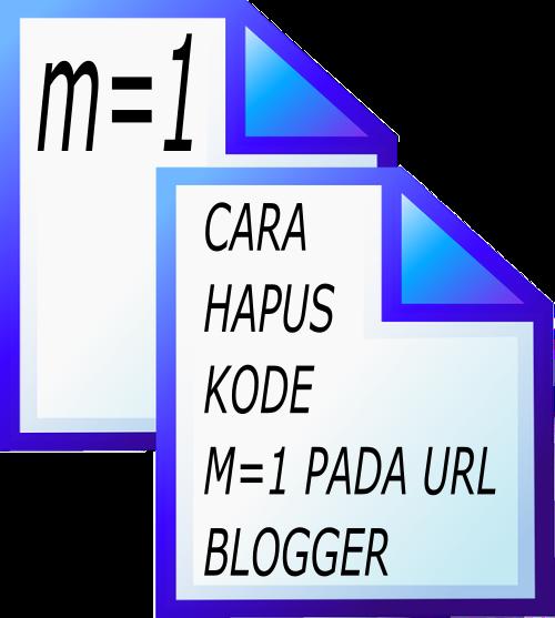 Cara menghilangkan kode m=1 pada URL blog saat dibuka di HP yang menyebabkan Duplicate Content