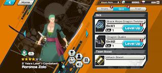 Upgrade Skill Karakter Game One Piece Bounty Rush