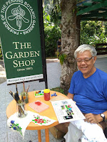 Art & Craft Demonstrations At Garden Shop
