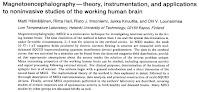 "Screenshot of the title and abstract of Hämäläinen, Hari, Ilmoniemi, Knuutila, and Lounasmaa, ""Magnetoencephalography: Theory, Instrumentation, and Applications to Noninvasive Studies of the Working Human Brain. Rev. Mod. Phys. 65:413-497, 1993."