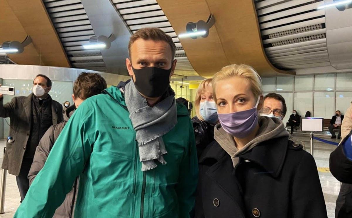За что задержали Навального