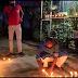 মোমবাতি প্রজ্জলন করে ঈশ্বরের কাছে শান্তি কামনা পানিসাগর মিডিয়া সেলের