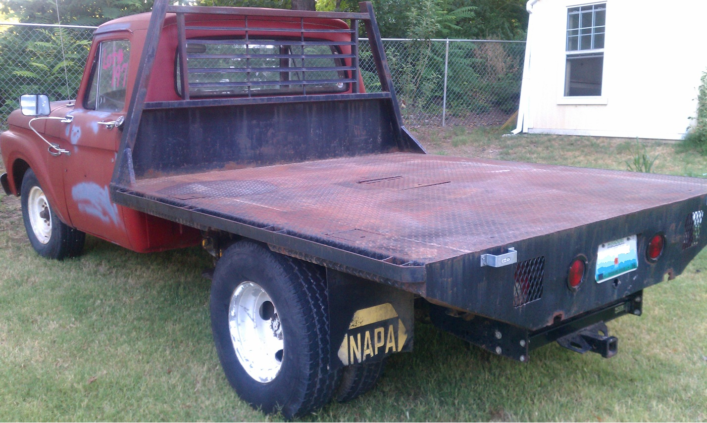 How To Build A Wooden Flatbed For A Pickup Wooden Plans Fine