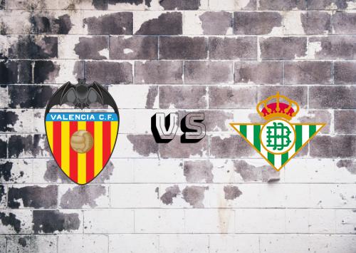 Valencia vs Real Betis  Resumen