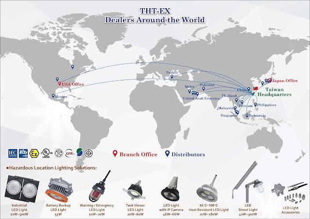 THT-EX Hazardous Area Lighting_Dealers Around the World