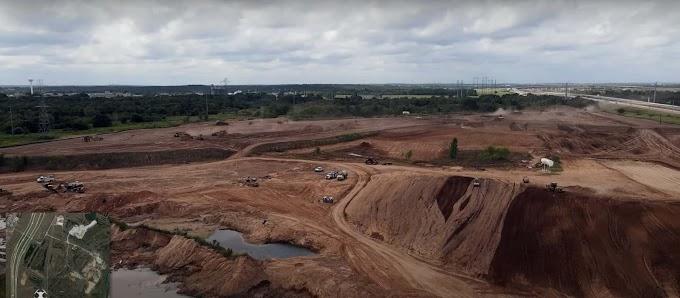 Tesla Gigafactory Texas: imágenes de drone destacan la construcción expansiva en curso