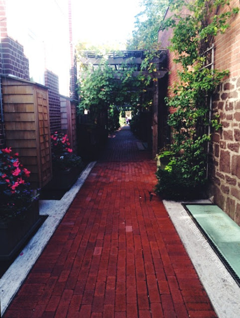 Brick Lined Alley