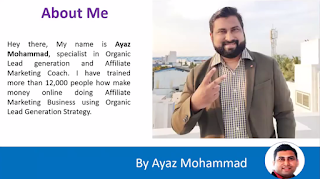 leadsark about ayaz mohammad
