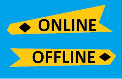 Bisnis online dan offline