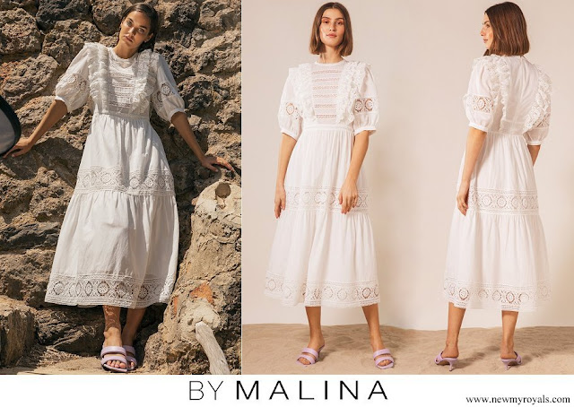 Crown Princess Victoria wore By Malina Amada dress