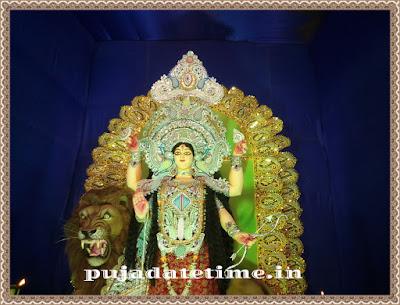 Kushmandi Jagaddhatri Puja