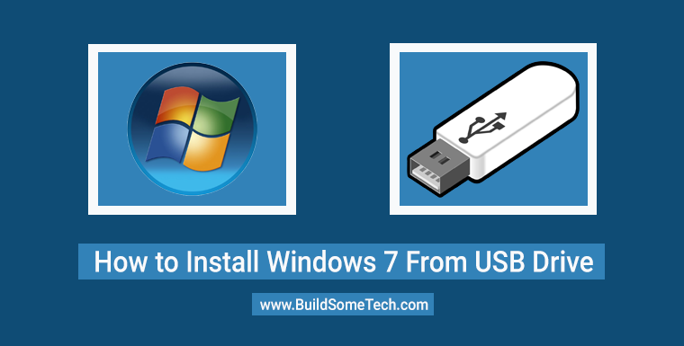 How to Install Windows 7 From USB Flash Drive Pendrive