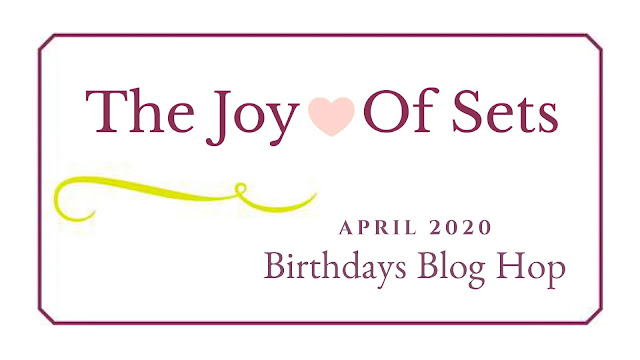 Nigezza Creates with Stampin' Up! Ornate Layers Joy Of Sets April Blog Hop: Birthdays