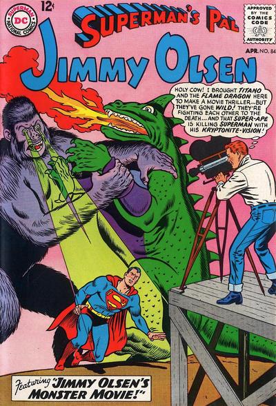 Episode #381 Part IV: Superman Family Comic Book Cover Dated April 1965: Superman's Pal Jimmy Olsen #84!