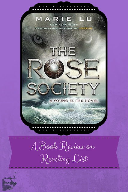 The Rose Society by Marie Lu a Book Review on Reading List