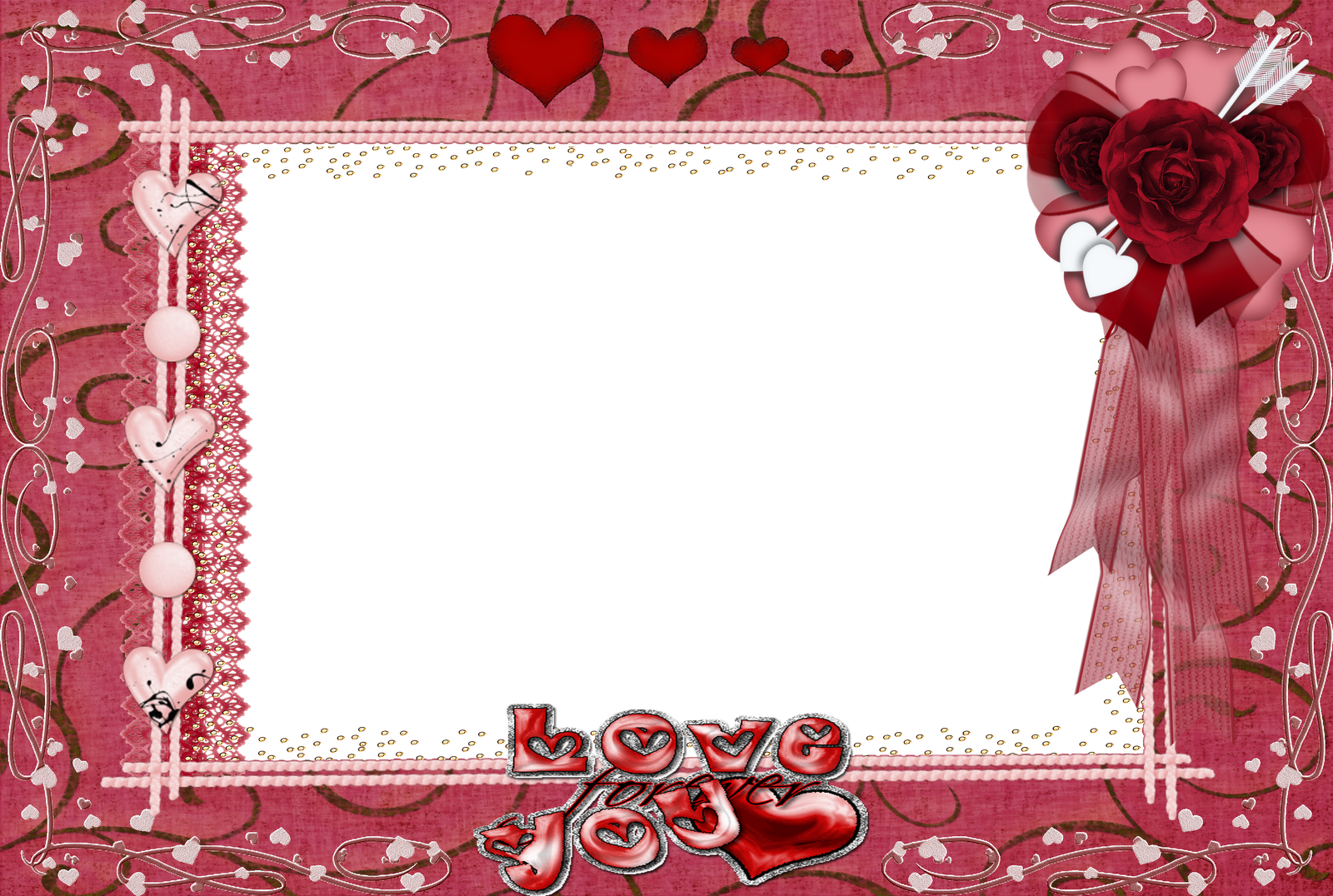 Central photoshop frames png mix 4 for Love in design