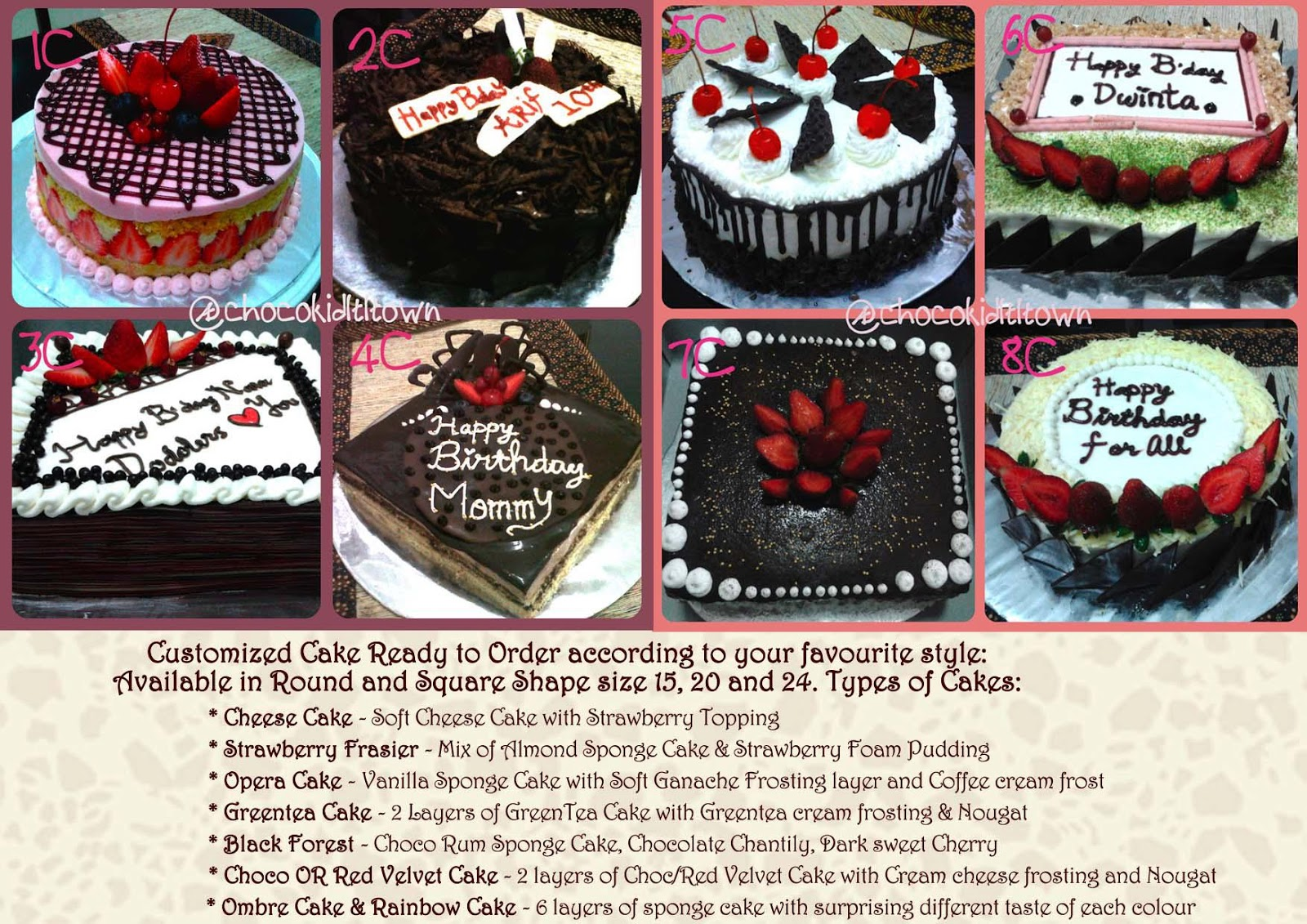 Chocokid Littletown Chocokid Littletown Cupcake Amp Cake Tart