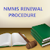 NMMS renewal procedure