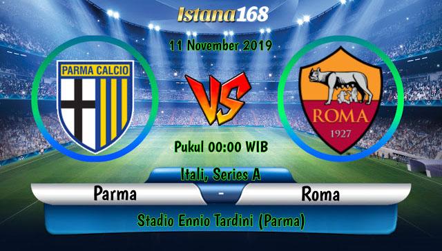 Prediksi Parma vs AS Roma 11 November 2019