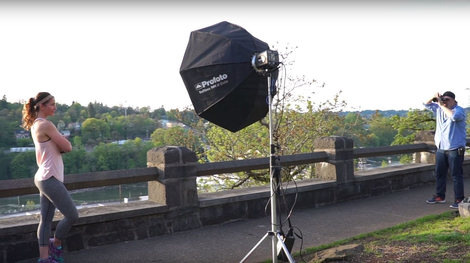 Balancing Strobe and Sunlight for Dramatic Portraits