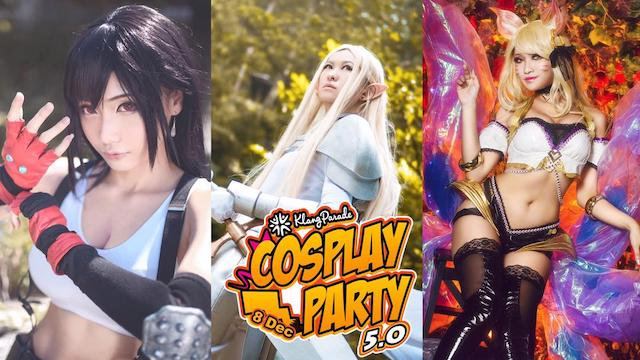 Join Klang Parade's Cosplay Party 2019!