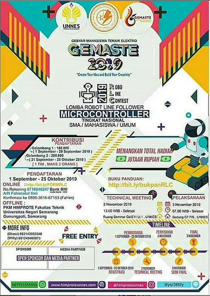 GEMASTE 2019 oleh Universitas Negeri Semarang