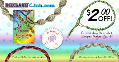 Save $2.00 on the Friendship Bracelet Super Value Pack!