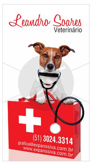 cartoes de visita veterinarios criativo - 15 lindos Cartões de Visita de Veterinários