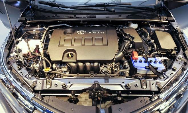 Động cơ VVT-i trên xe Toyota Corolla Altis