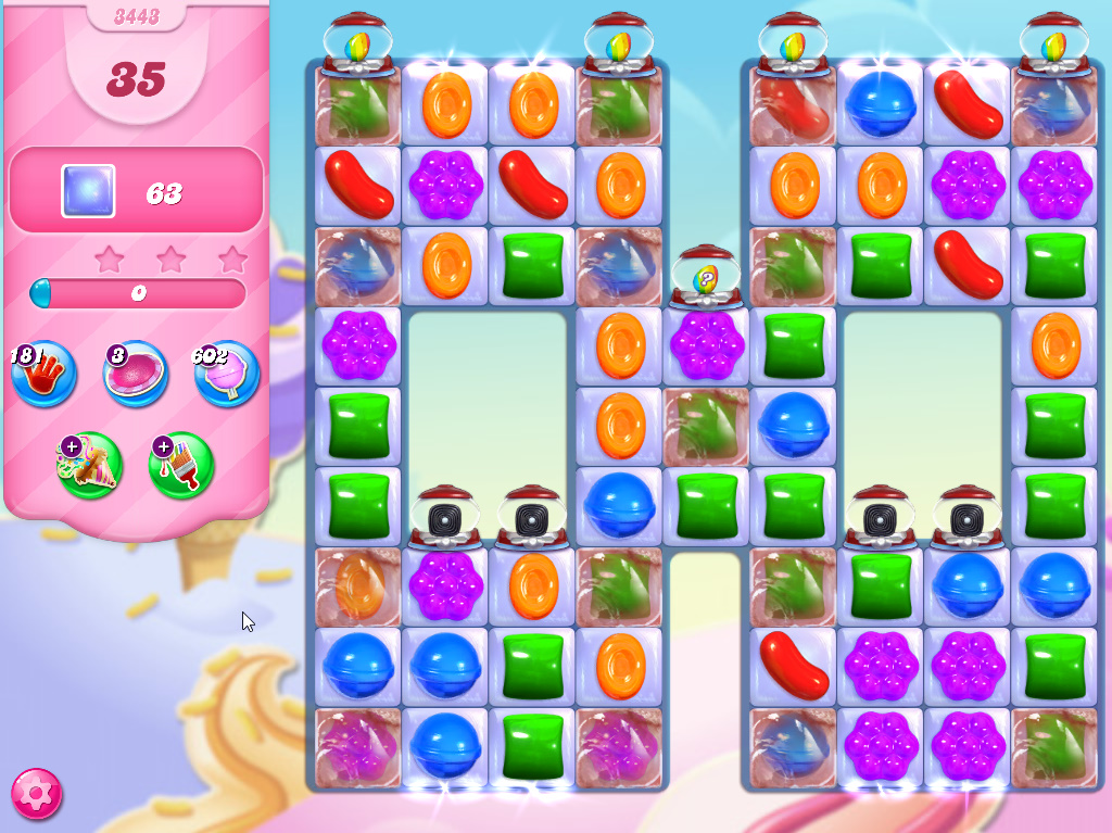 Candy Crush Saga level 3443