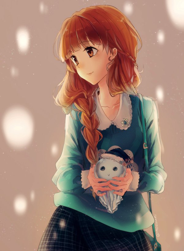 Lovely Manga And Anime Paintings by Roslee
