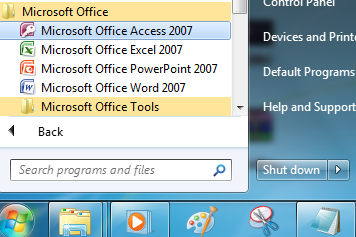 Cara Membuat Database & Tabel Menggunakan Microsoft Access 2007