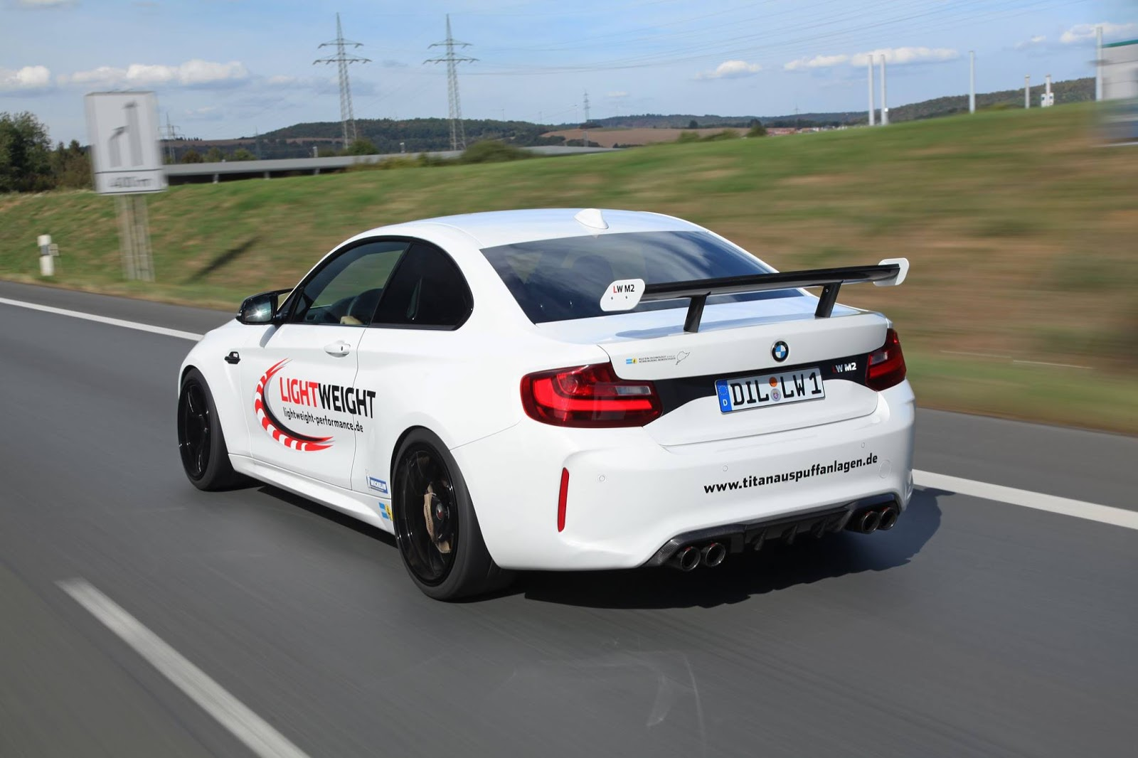 bmw m2 tuned to 443 hp by lightweight performance. Black Bedroom Furniture Sets. Home Design Ideas