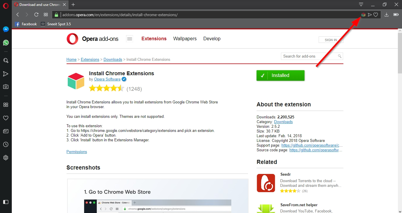 How to Install Google Chrome Extensions for Opera | SBmade | New