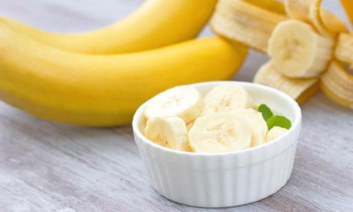 Mascarilla hidratante de plátano para la cara