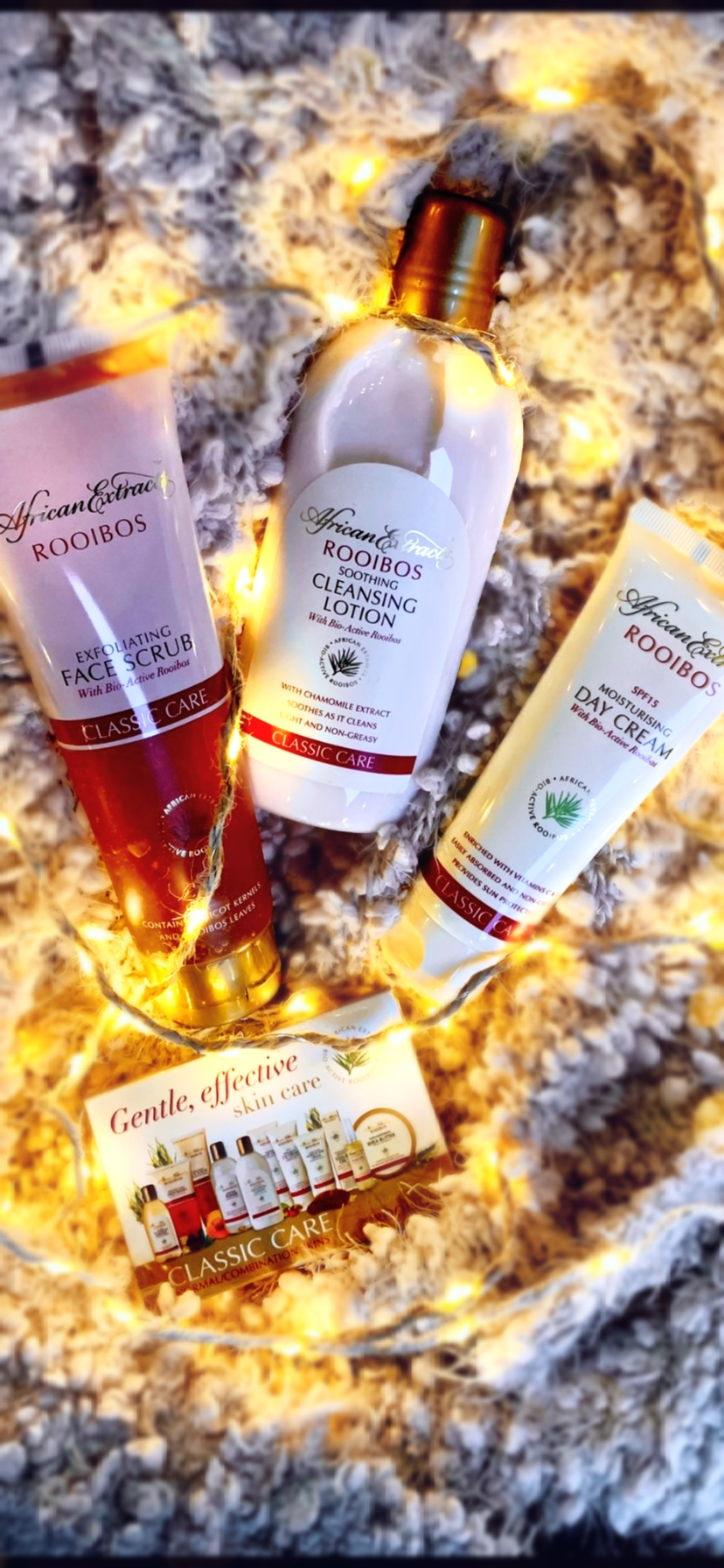 African Extracts Rooibos Classic Care Range review
