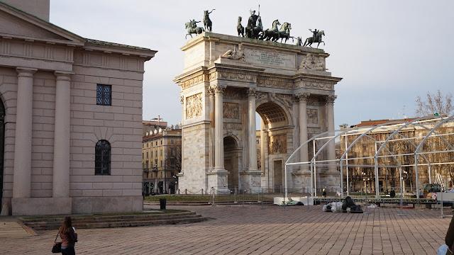 Łuk triumfalny Mediolan