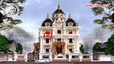 Thiết kế biệt thự lâu đài 3 tầng Pháp đẹp ở Châu Quỳ, Hà Nội - Ảnh 1