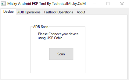 Micky Android FRP Tools v1.0