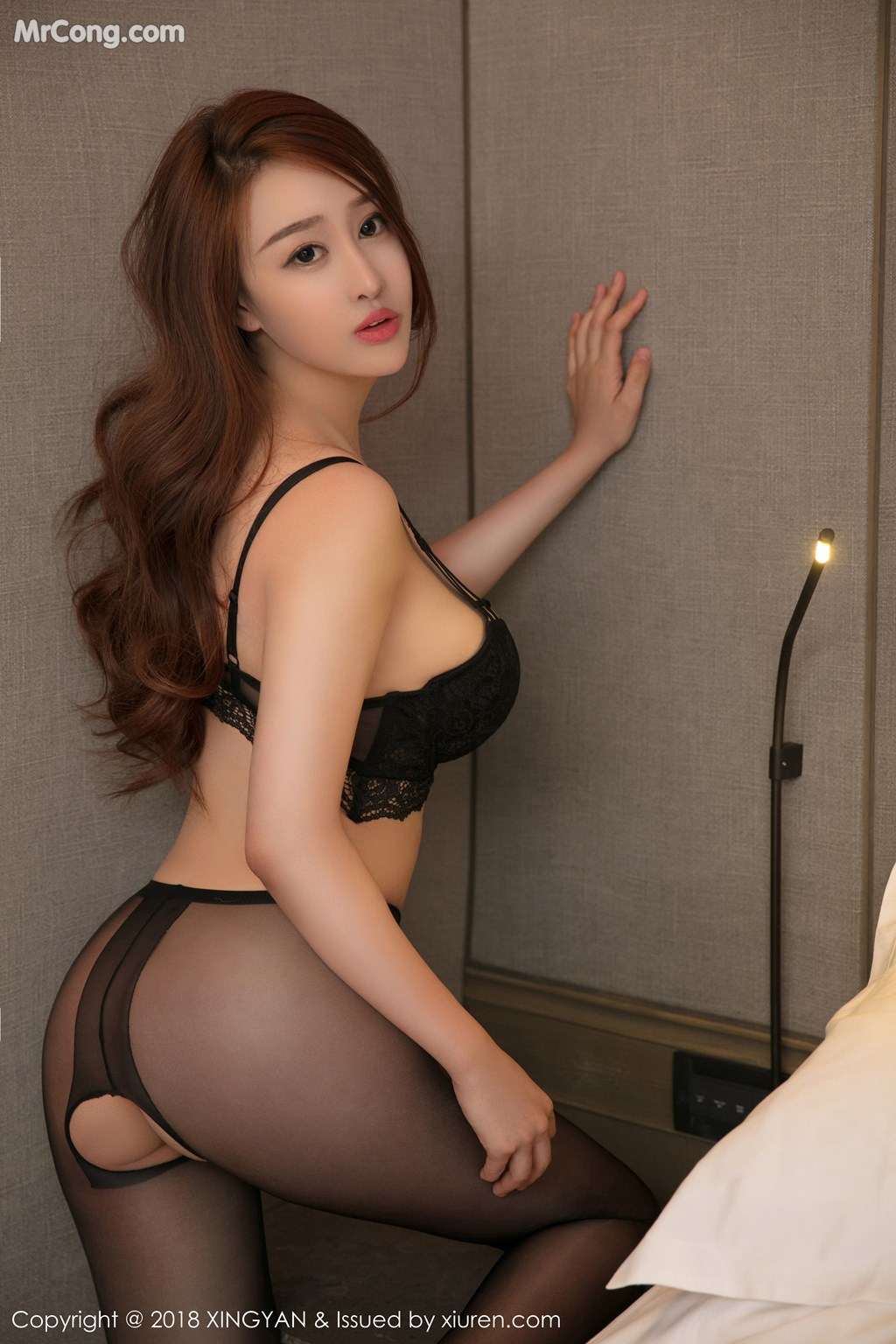 Image XingYan-Vol.052-Jin-Yu-Xi-MrCong.com-001 in post XingYan Vol.052: Người mẫu Jin Yu Xi (金禹熙) (37 ảnh)
