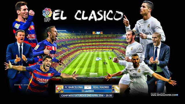 Prediksi Barcelona vs Real Madrid  - El Clasico Super Spanyol 14 Agustus 2017
