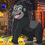 Games4King -  G4K Jubilant Gorilla Escape Game